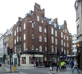 Arthur Beresford Pite - 42-44 Mortimer Street by Pite.