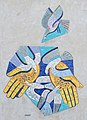 Mosaic by Franz Molt, Bendlgasse 25, Vienna.jpg