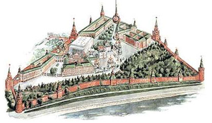 Moscow Kremlin map - Nikolskaya Tower.png