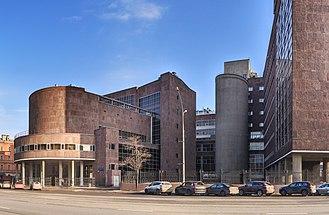 Russian Federal State Statistics Service - Tsentrosoyuz building