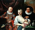 Mother and child with Harlequin 18th century.jpg
