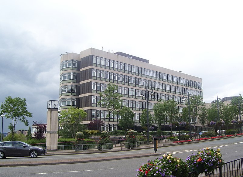 File:Motherwell Civic Centre - geograph.org.uk - 3045184.jpg