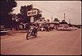 Motorcyclist in Leakey, Texas, near San Antonio, 05-1973 (3704383646).jpg