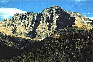 Lewis Range - Mount Cleveland is the highest peak in the Lewis Range