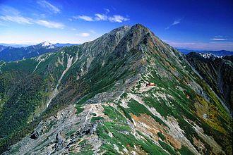 Mount Kita - Mount Kita viewed from Mount Nakashirane