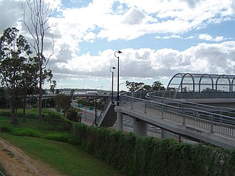 Mount Lindesay Highway - Image: Mount Lindesay Highway Hillcrest