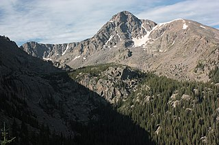 Mount of the Holy Cross mountain in United States of America