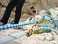 Mountain climbing equipment in Mirabad - Nishapur 02.JPG