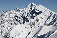 Горы Краснодарского края Википедия Хребет Аибга Вид в сторону Турьих гор Апрель