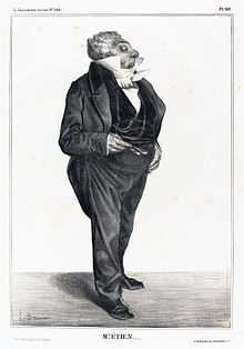 Caricature by Honoré Daumier, 1833 (Source: Wikimedia)