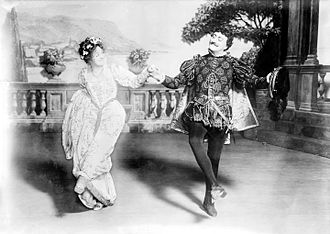 Laura Hope Crews - Laura Hope Crews and John Drew, Jr., in Much Ado About Nothing (1913)