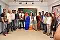 Mudasir Ali, Randeep Hooda, Seema Chaudhary, Tia Bajpai, Richa Soni, Nitin Chaudhary at Nitin Chaudhary's art show in 2014.jpg