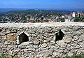 Mury zamku w Kruji 1.jpg