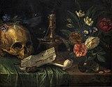 Musée des arts décoratifs - Vanité au crâne - Jan van Kessel - Collection de la Baronne Henri de Rothschild Inv.25794.jpg