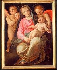 Museo dell'opera del duomo, prato, Madonna col Bambino di Maso da San Friano.jpg