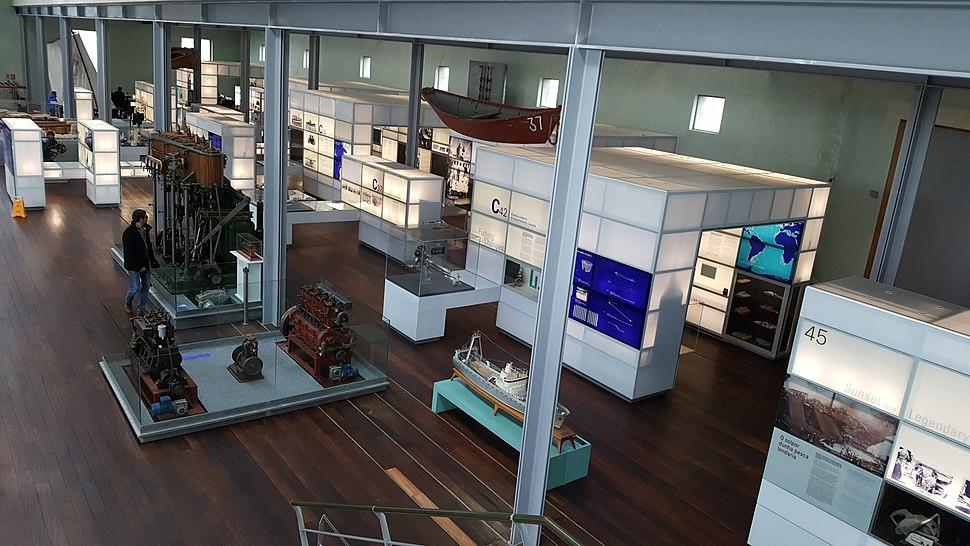 Museo do mar de Galicia - sala da relación económica co mar