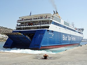 Mykonos Blue Star Ferries Ithaki 03