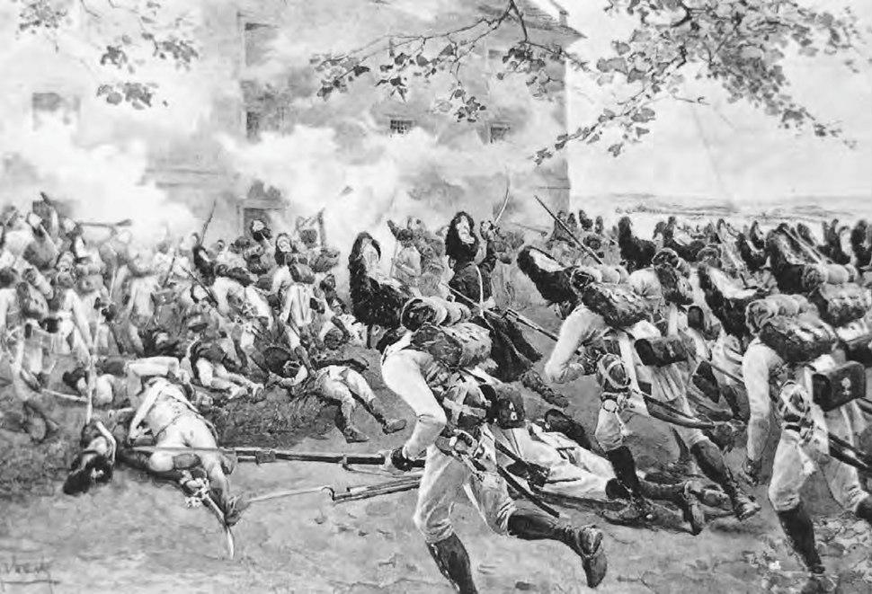 Myrbach-Austrian grenadiers at Essling