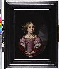 Portrait of Maria van Loon (1662-1734)