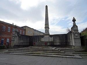 North Eastern Railway War Memorial - Image: NER War Memorial full view 1 2017 02 18
