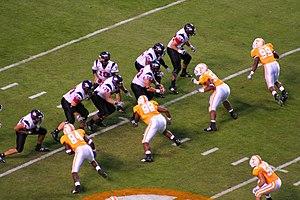 2008 Northern Illinois Huskies football team - Northern Illinois on offense against Tennessee