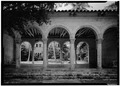 NORTH EXTERIOR, NORTH LOGGIA - McAneeny-Howerdd House, 195 Via Del Mar, Palm Beach, Palm Beach County, FL HABS FLA,50-PALM,8-14.tif