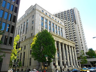 National Register of Historic Places listings in San Francisco - Image: NW corner Sacramento n Battery