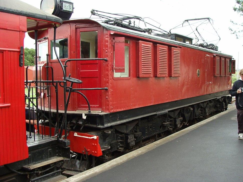 NZR EO class locomotive 03