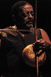 Nana Vasconcelos Playing The Afro Brazilian Berimbau