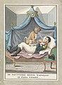 Napoleons Engelse nachtmerrie, 1813 De Nagtmerri Berijd Napolion of Papa Violet (titel op object), RP-T-00-3535.jpg