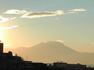 Monte Faito mountain