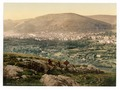 Napulus and Mount Gerizim, Napulus, Holy Land, (i.e., Nablus, West Bank)-LCCN2002725043.tif