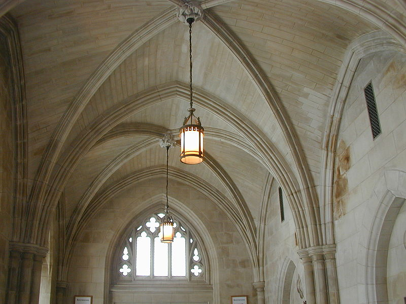 Narthex vaulting in Washington National Cathedral.jpg
