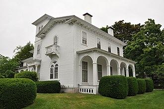 Nashville Historic District (Nashua, New Hampshire) - Image: Nashua NH Gen George Stark House