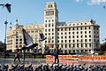 National Credit Bank building in Plaza Catalunya. Barcelona, Catalonia, Spain.jpg