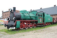 National Museum of Agriculture in Szreniawa, locomotive.JPG