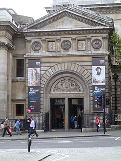 National Portrait Gallery, London, main entrance.JPG