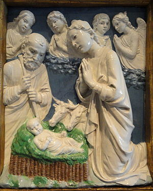 Luca della Robbia - Nativity, National Gallery of Art