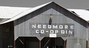 Needmore, Bailey County, Texas - Abandoned cotton gin in Needmore