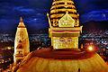 Nepal Kathmandu Swayambhunath Night Swayambhunath 4 (full res).jpg