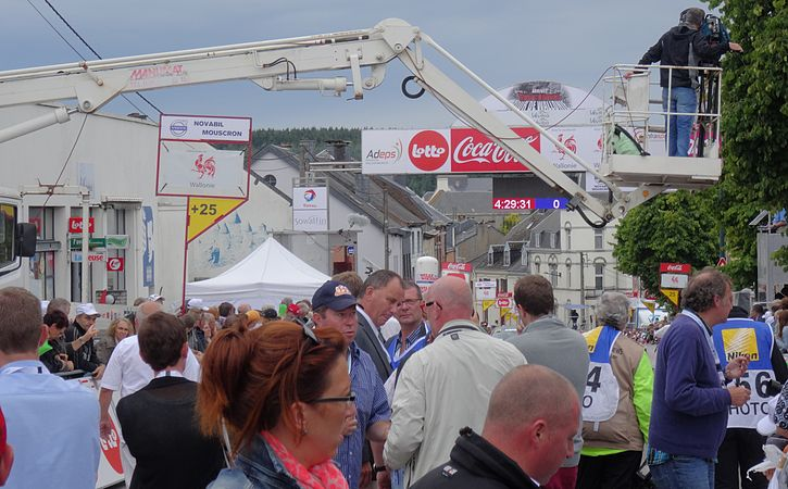 Neufchâteau - Tour de Wallonie, étape 3, 28 juillet 2014, arrivée (C32).JPG