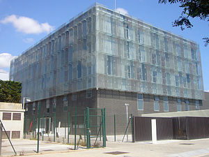 Ciutat Esportiva Joan Gamper - The new Masia, residence opened in 2011 on the site.