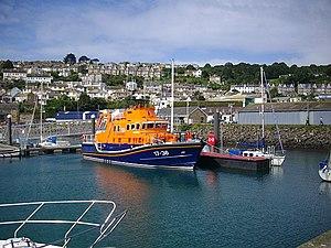 Penlee Lifeboat Station - 17-36 Ivan Ellen in Newlyn harbour