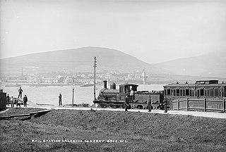 Farranfore to Valencia Harbour Railway