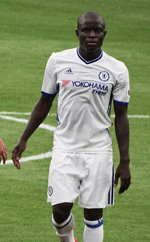 PFA Players' Player of the Year - N'Golo Kanté won the award in 2017 for his performances for Chelsea