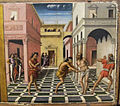 Niccolò alunno, predella per cappella di san nicola in san nicolò a foligno, 1492, 04.JPG