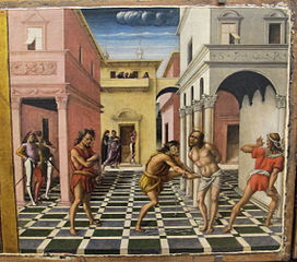 Le Christ au Jardin des Oliviers et la Flagellation