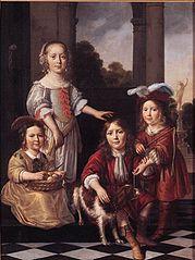 Portrait of Four Children