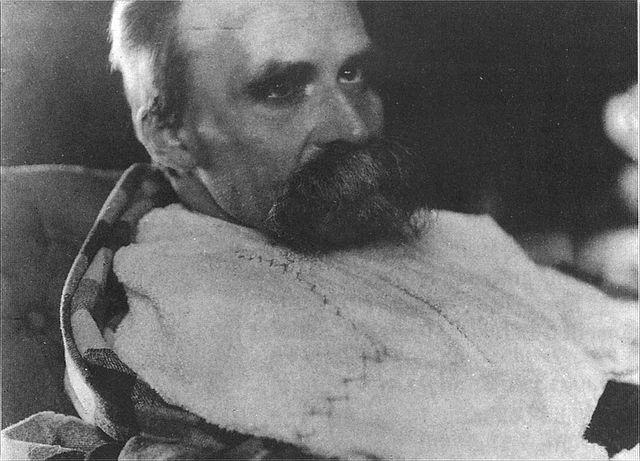 Ницше накануне смерти, 1899 год