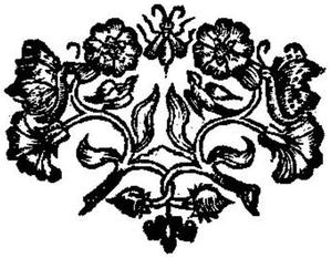 Jan Mommaert - Decorative feature from a Mommaert imprint